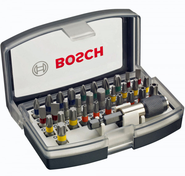 Bosch Bit-Set 32-tlg. (PZ,PH,TX,SL+HEX)